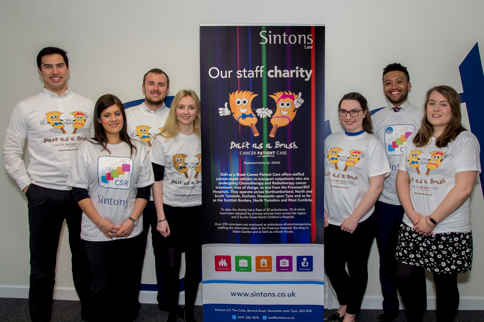 Trainee Three Peaks Challenge | Sintons | Daft as a Brush | Newcastle